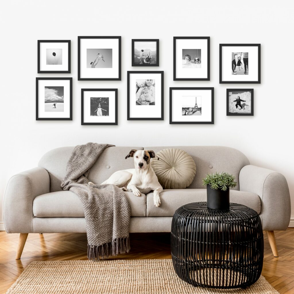 New Gallery Wall Products Framefox framed wall art framing decor styling