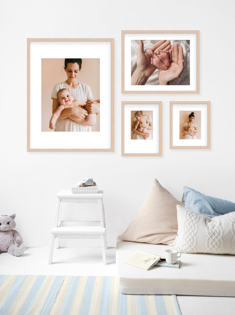 Nursery picture wall gallery styling decor