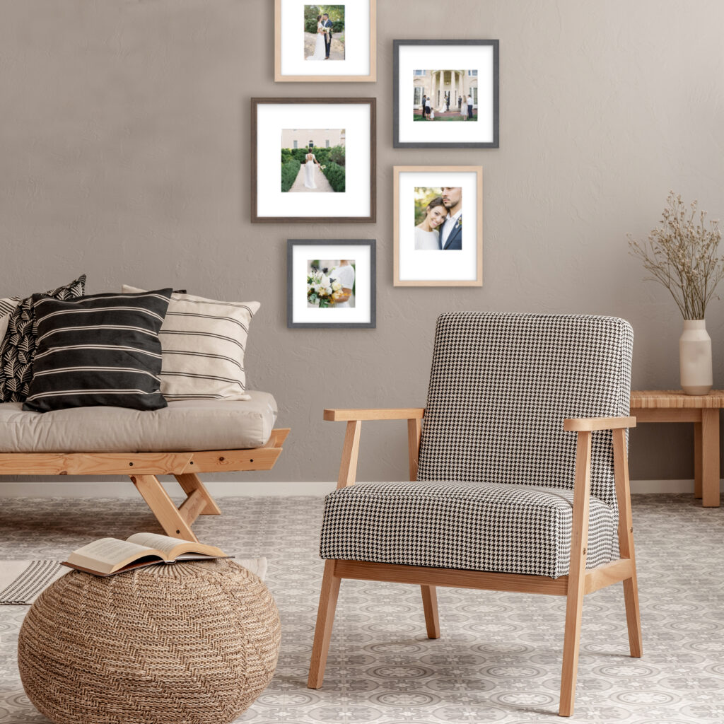Eclectic Picture Frame Gallery Walls