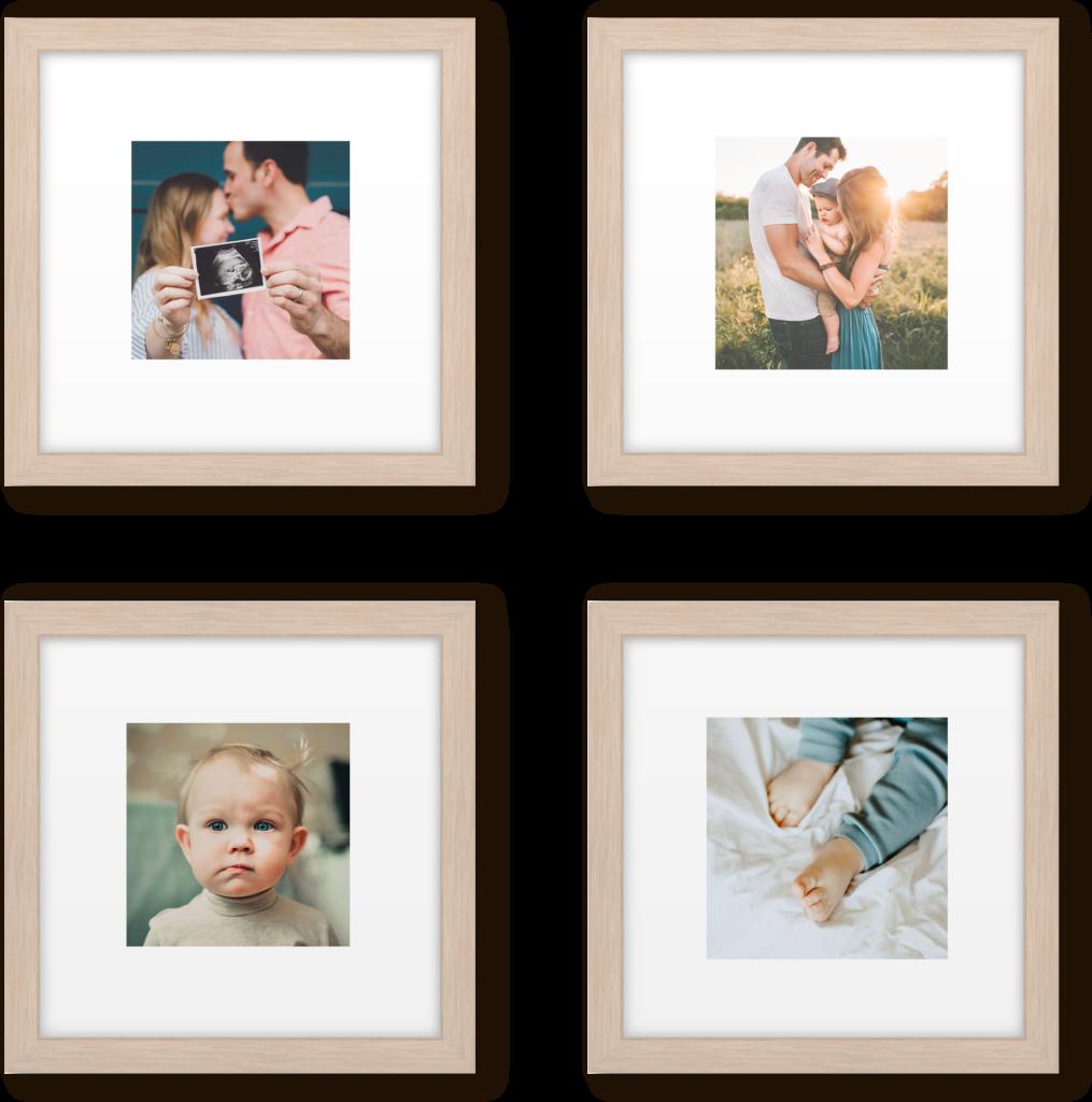 Nursery Petite Grid Gallery Wall Picturewall