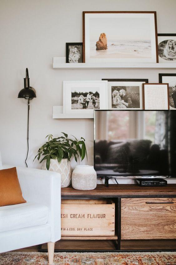 Frame interior design