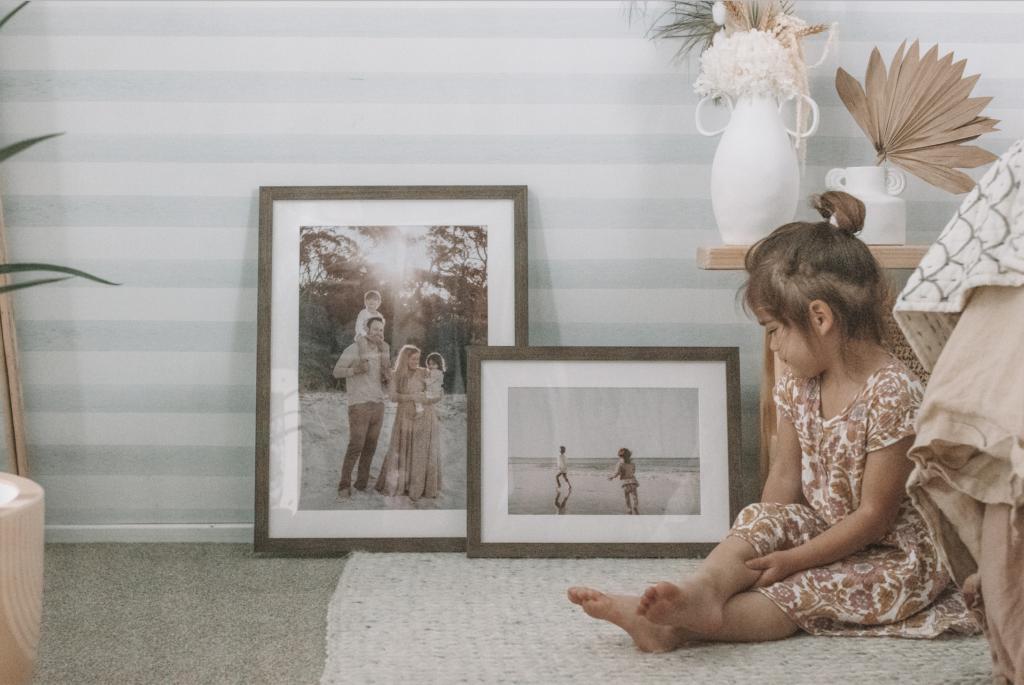 Custom frames framing framefox family photos