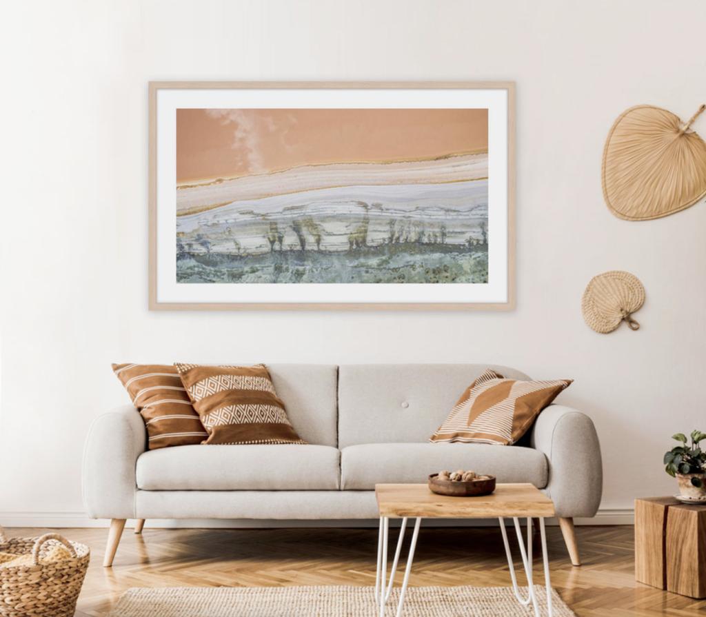 Landscape print trends style prints framing trend