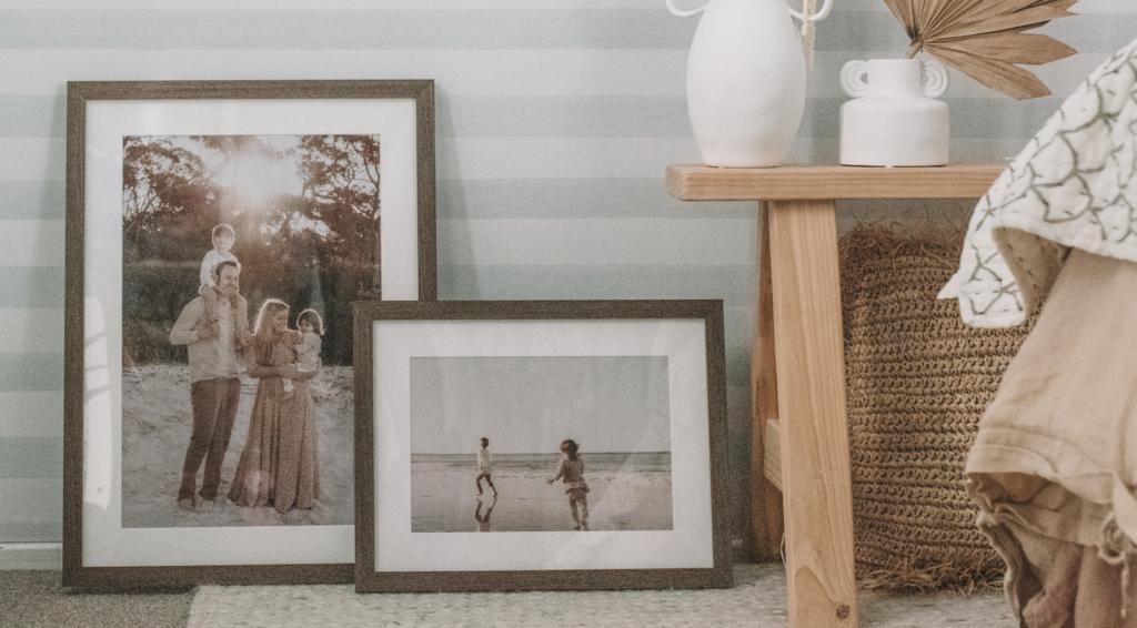 Custom framing how-to frames