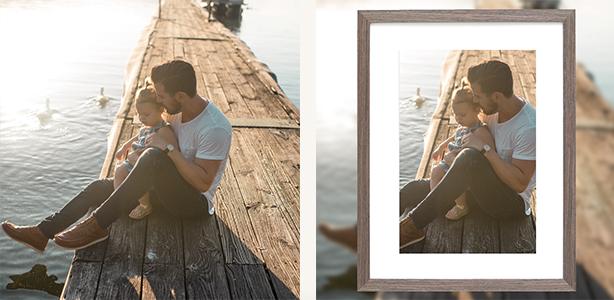 Hudson Wood Frame Framefox Styles