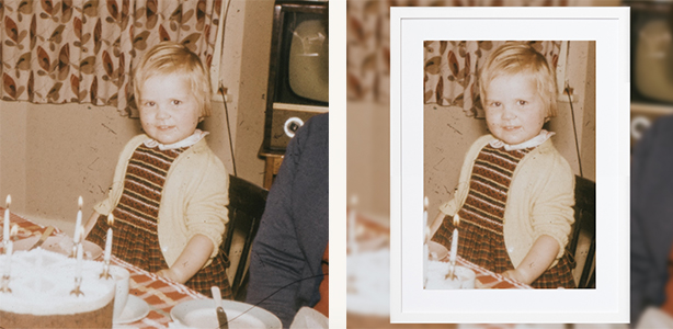 Lennon White Picture Frame Frames