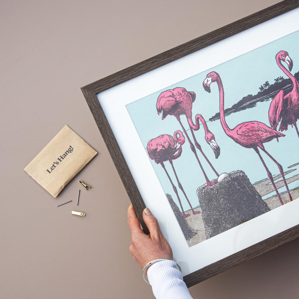 Print and Frame Hang Frames