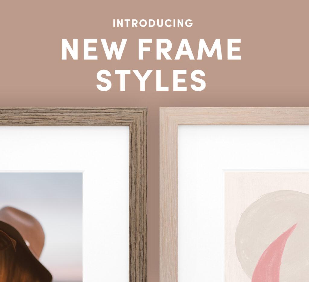 New Frame Styles Framefox
