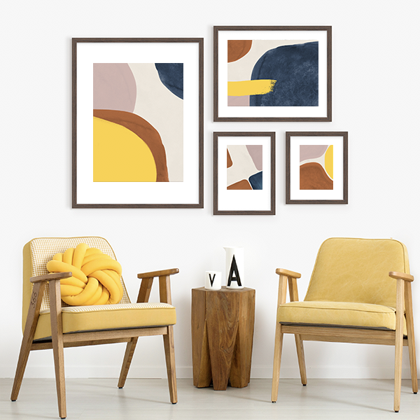 Framed Prints Gallery Wall