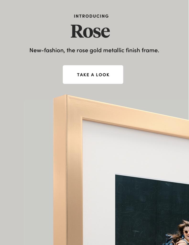 Frames Rose Gold Frame Rose Framefox