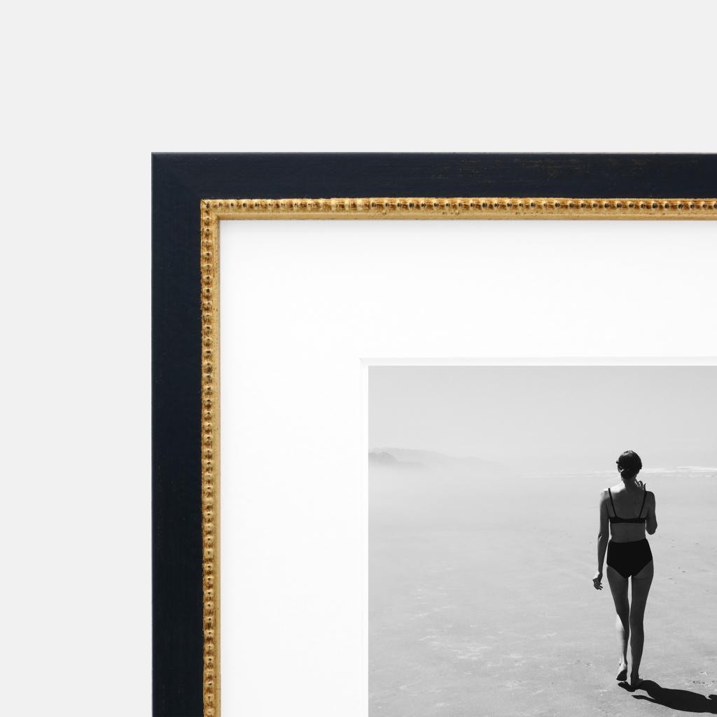Sloane Gold and Black Frame